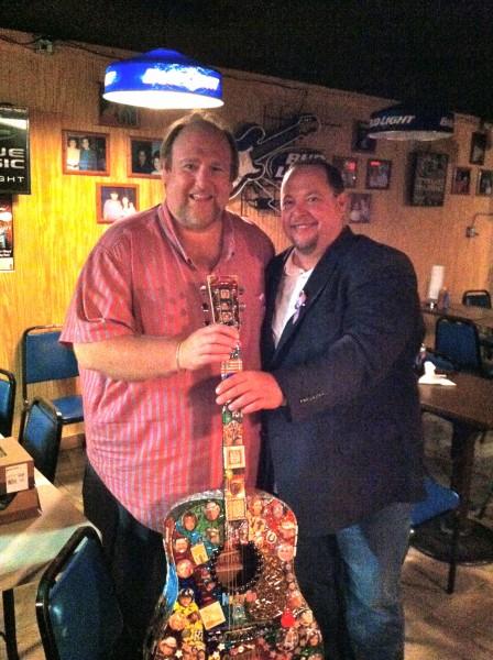 Stars On Guitars Winner Ed Carter Enjoys His Prize Cdx