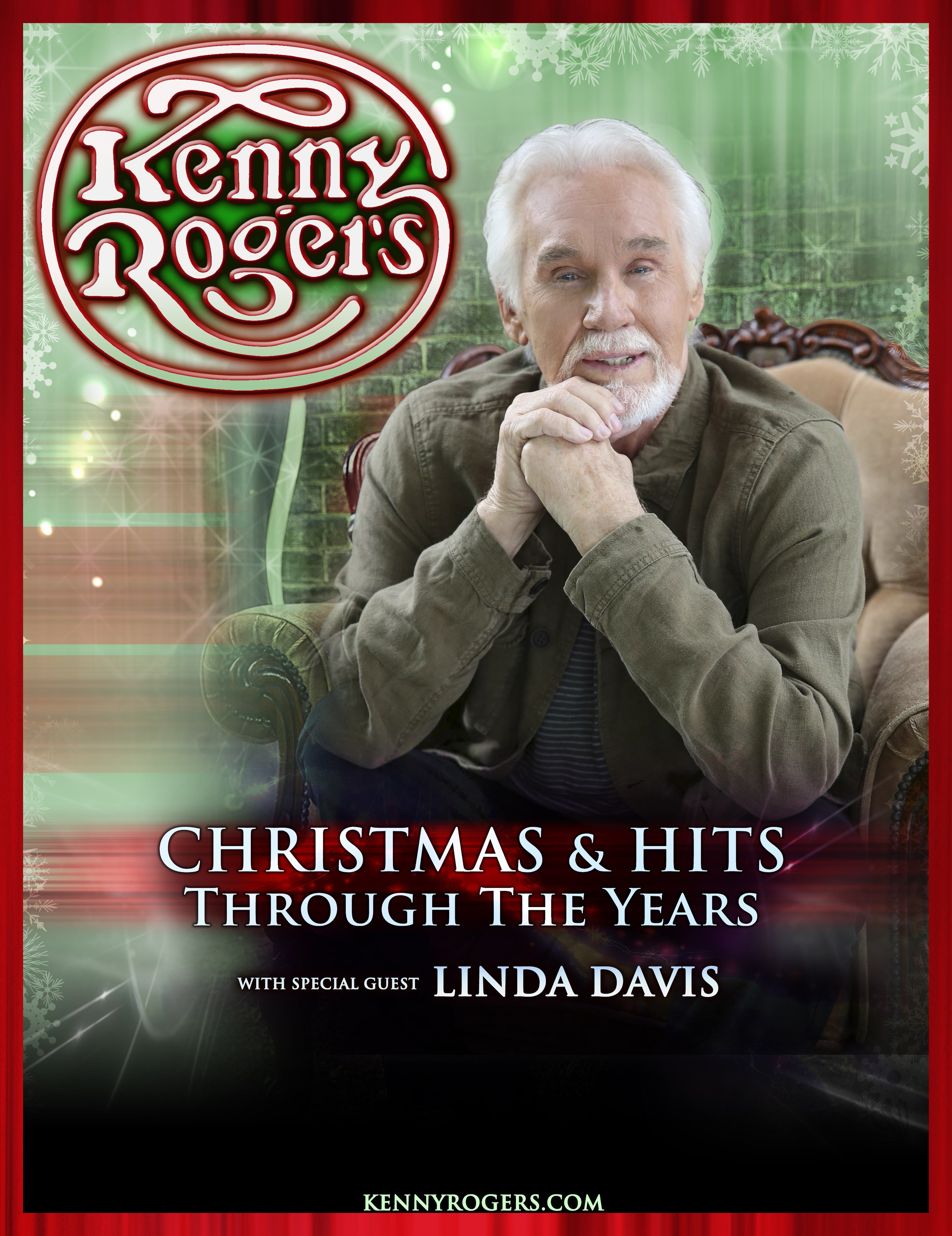Kenny Rogers Continues Holiday Tradition With 2014 Christmas and ...