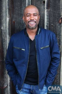 Darius Rucker will be AT&T U-verse Fan Fair X Artist of the Day Sunday, June 14. Photo Credit: Jim Wright