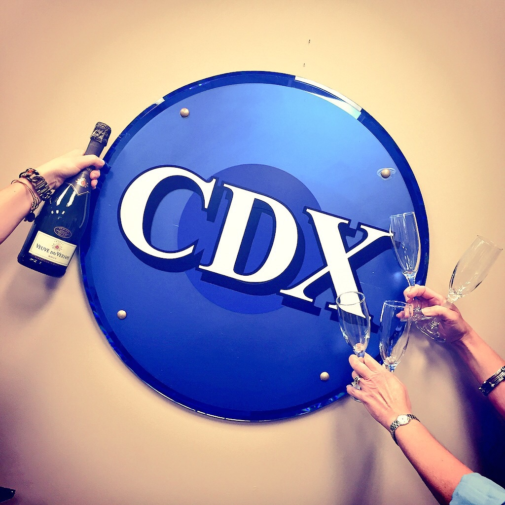 CDX Champagne Friday!