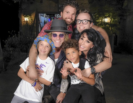 Big Kenny and Family
