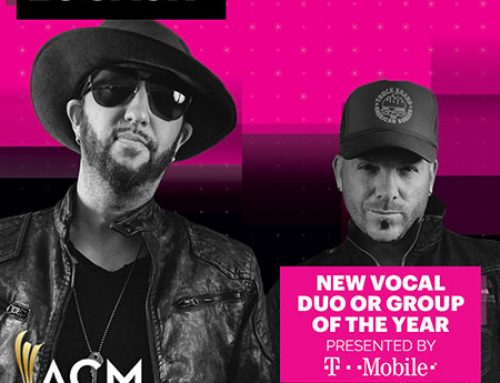 LOCASH CELEBRATES ACM NOMINATION FOR 'NEW VOCAL DUO OR GROUP OF THE YEAR'